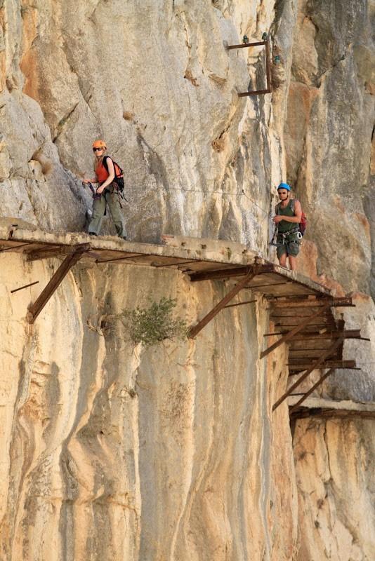 El Caminito del Rey - promenade le plus dangereux du monde