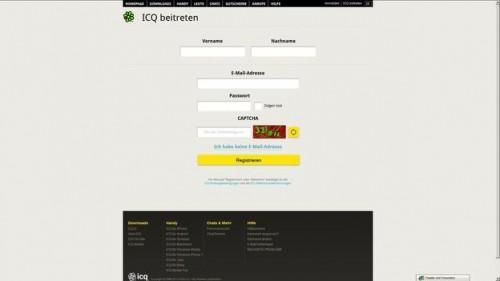 Créez un compte ICQ - comment cela fonctionne: