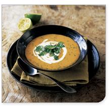 3 Recettes de fête d'automne: soupe de potiron, ragoût de boeuf et de citrouille fondue