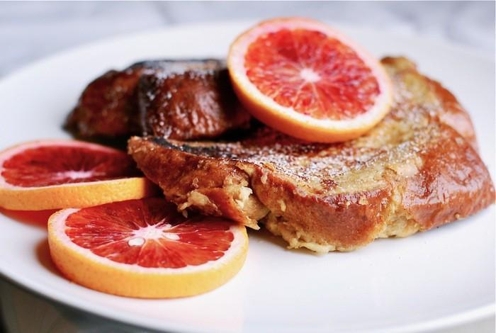 Blood Orange française Toast: Un impressionnant hiver Breakfast