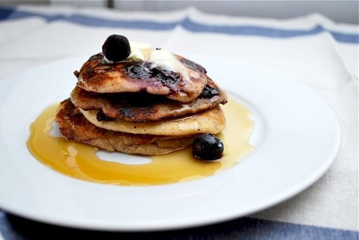 Blueberry Pancakes: Un impressionnant Weekend Breakfast