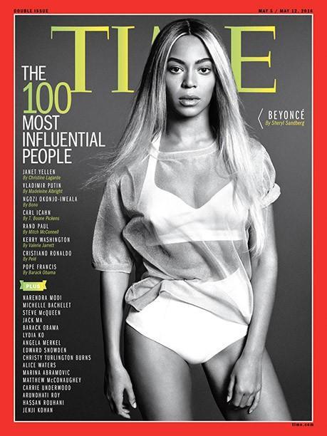 """Beyonce Songs: 'Drunk in Love' Terres étoiles sur la couverture du délai d'émission annuels """"100 personnes les plus influentes»"""