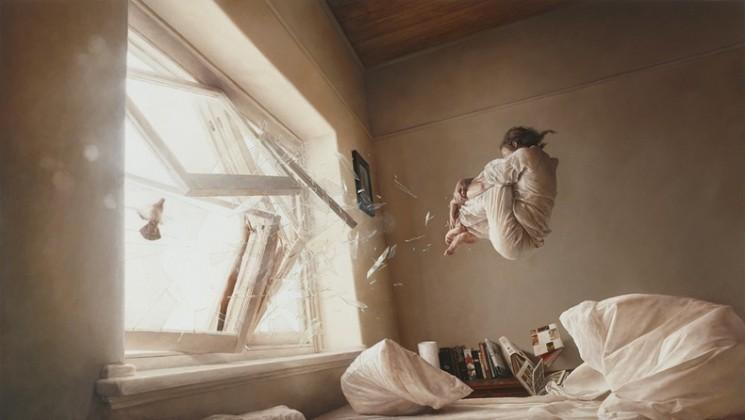 Peintures surréalistes Jeremy Geddes