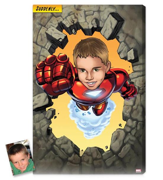 Comment faire pour obtenir le visage de votre enfant sur le corps de Spider-Man