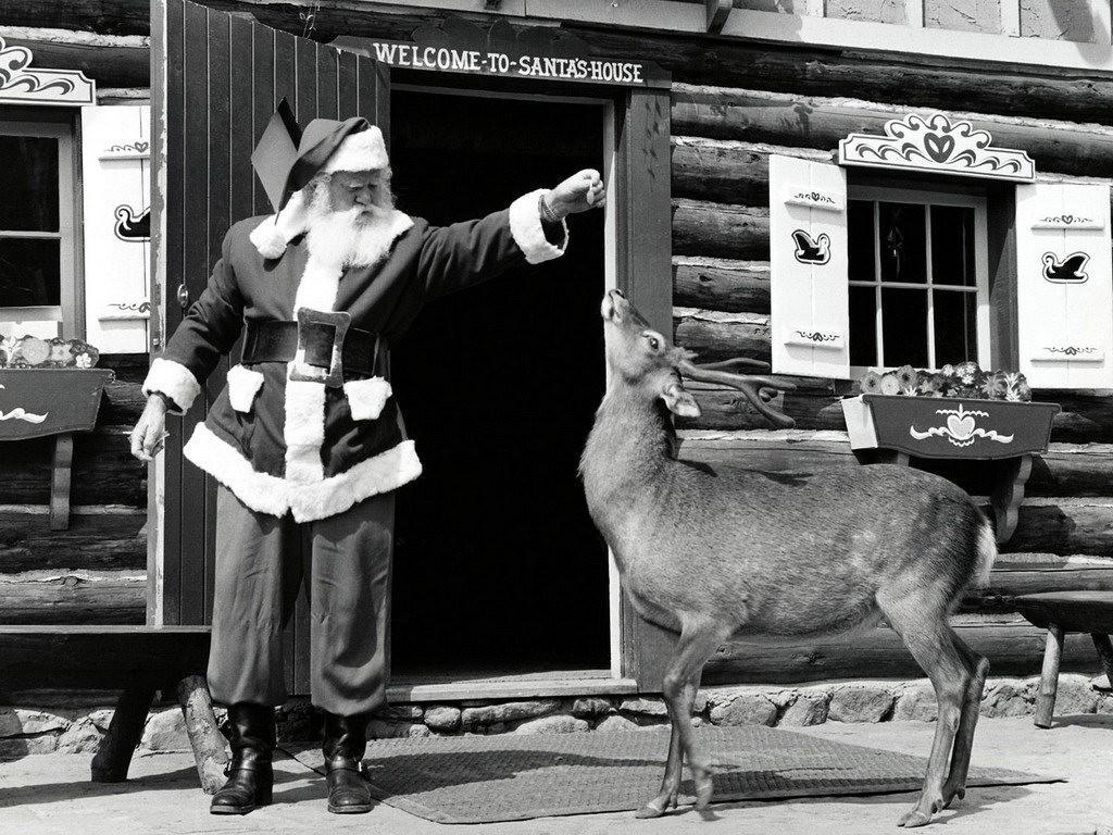 Lorsque Noël était En Noir Et Blanc 20 Vues Vintage De Noël