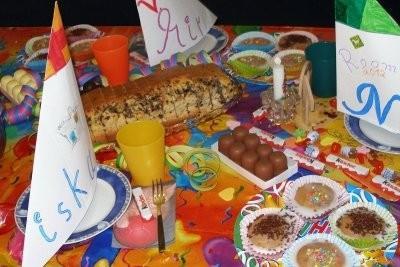 célébration d'anniversaire à l'école maternelle - quelques suggestions