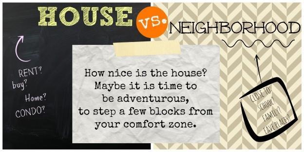 Maison vs. Quartier: qui est plus important?