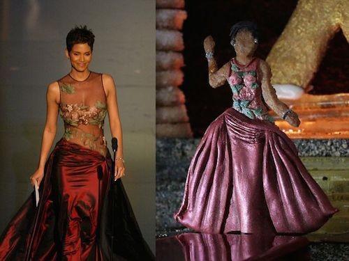 Si robes Oscar emblématiques avait des biscuits, parce qu'ils sont