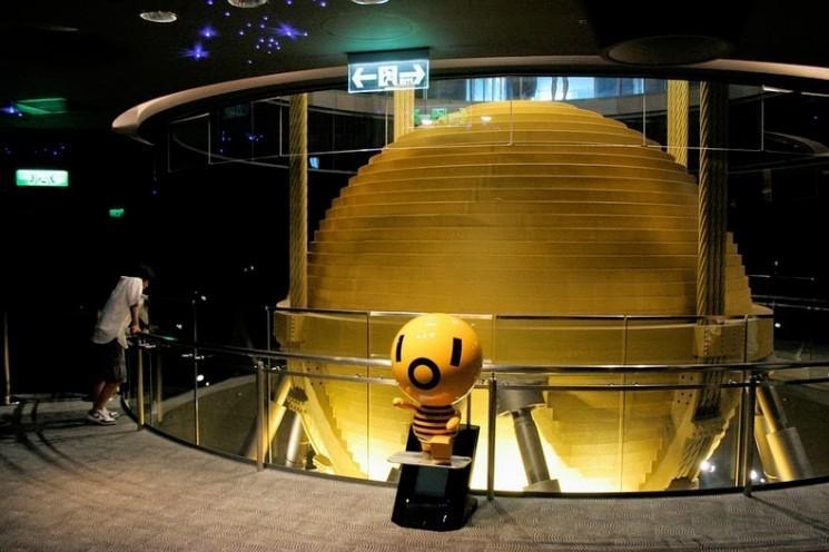 Le 728-Ton Tuned Mass Damper de Taipei 101