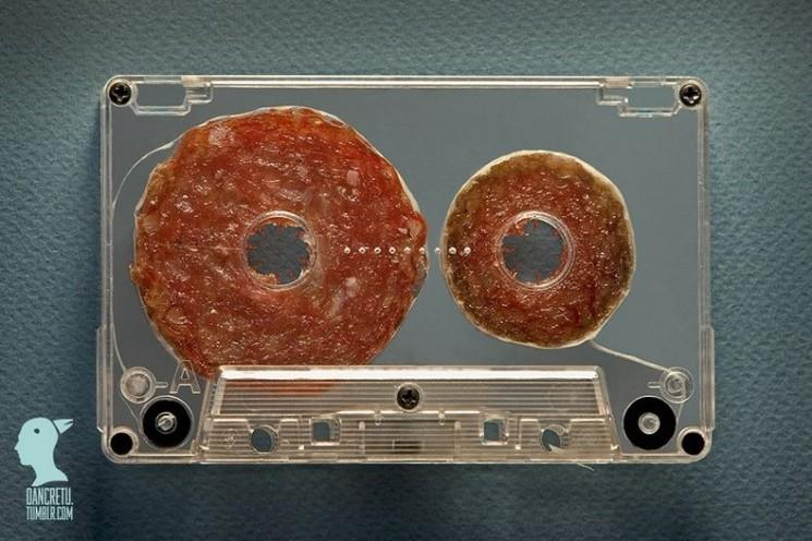 Sculptures de produits alimentaires par Dan Cretu