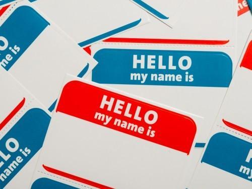 Bonne Obtenez un nom différent Jour!