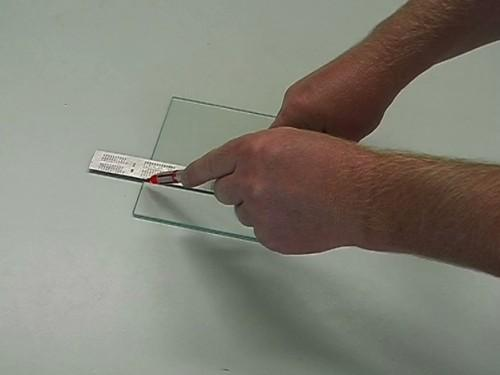 Instructions: verre Cut - comment ça marche