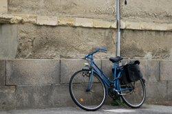Décorez un panier à vélo - donc réussit de