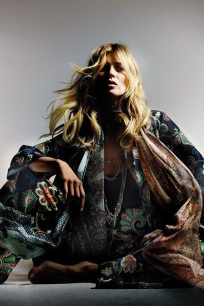 Kate Moss: les regards de sa collection pour Topshop