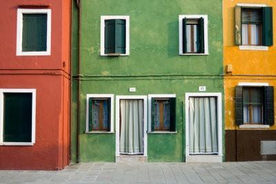 Souligner façade de la maison - si bien réussi le schéma de couleurs
