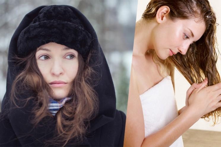 Conseils de soins pour les cheveux d'hiver: Il est maintenant Bonnet Météo