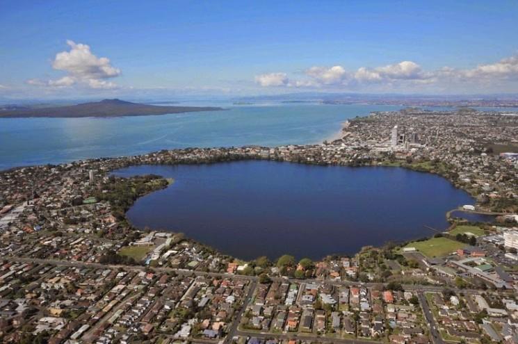 Auckland, la ville des volcans