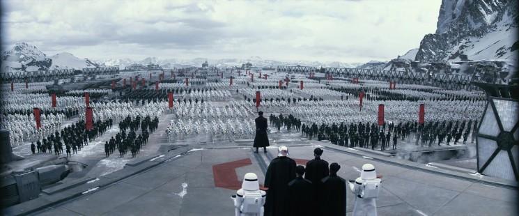 'Star Wars' épisode 7 spoilers, Nouvelles: Trailer révèle Premier Ordre AT-ATs?