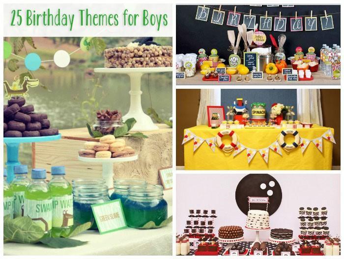 25 Thèmes Printemps anniversaire pour les garçons