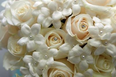 fleurs en papier crépon - un Bastelanleitung