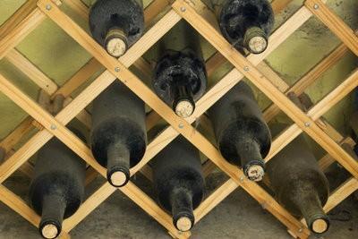 Construire bouteille elle-même en rack