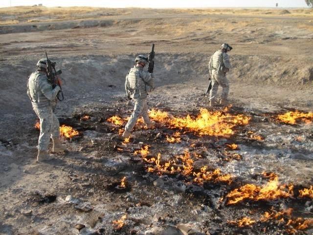 Le feu éternel à Baba Gurgur