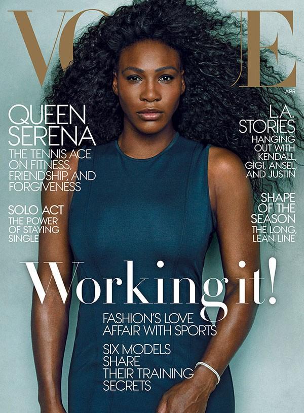 Pourquoi les questions de couverture de Vogue de Serena Williams