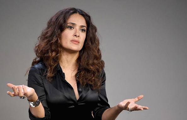 Salma Hayek actions histoire de la discrimination dans Dernières Interview