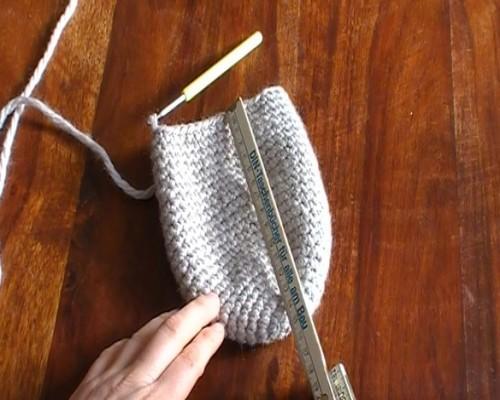 pantoufles de crochet