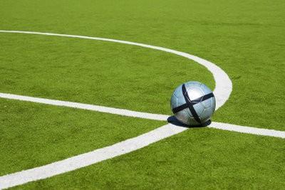 la taille du champ de Football - sachant un sport populaire