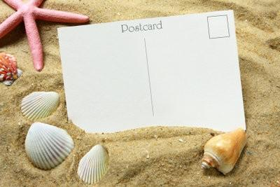 Frank carte postale - si vos salutations de vacances arrivent