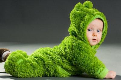 Tinker revêtements verts pour les enfants - Costumes de carnaval que Frog