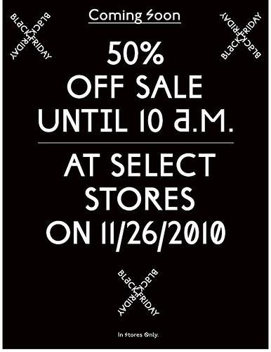 Black Friday Vente chez Urban Outfitters 50% de réduction!
