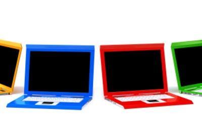 Ordinateurs portables colorés conçus par vous - comment cela fonctionne avec le film